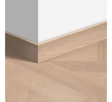 Плинтус Quick step 1248 Версаль белый промасленный